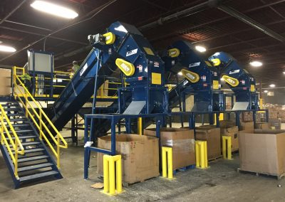 Glass Sort and Crusher Line