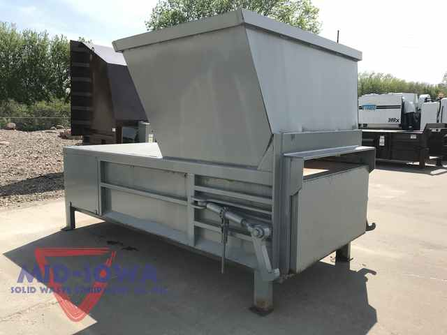 Reconditioned Cram A Lot 2 Cubic Yard Stationary Compactor